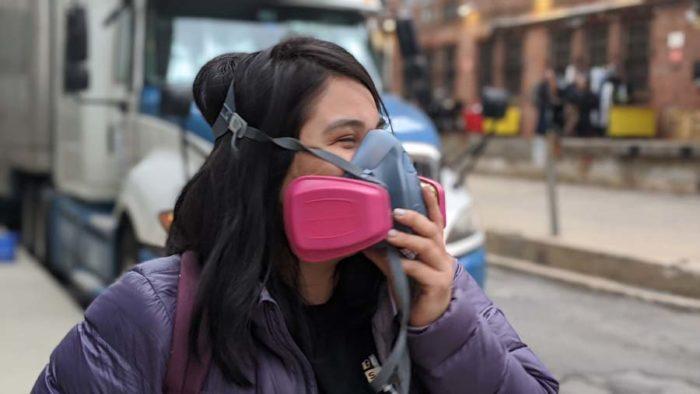 gas mask coronavirus