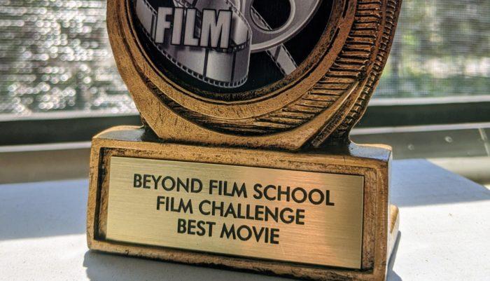 short film challenge trophy